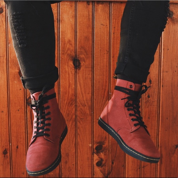 Dr Martens ALFIE red boot